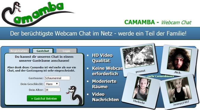 Leute per webcam kennenlernen